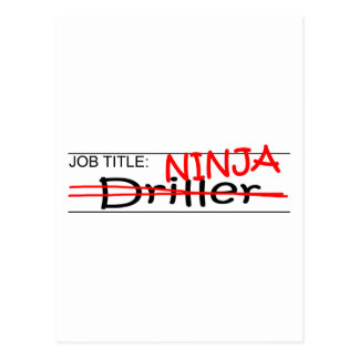 Cargo Ninja - taladradora Postal