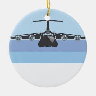 Cargo Plane Ceramic Ornament
