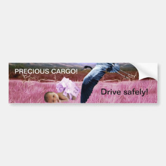 Cargo precioso de la niña pegatina para auto