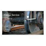 Cargo Service Business Card Template