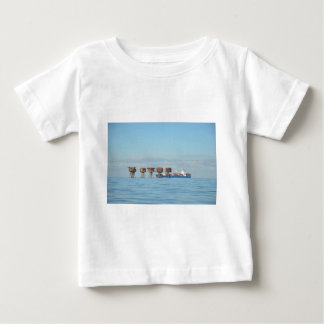 Cargo Ship And Forts Baby T-Shirt