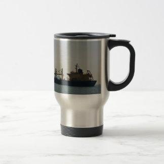 Cargo Ship Andermatt Travel Mug
