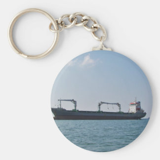 Cargo Ship Bozona Keychain