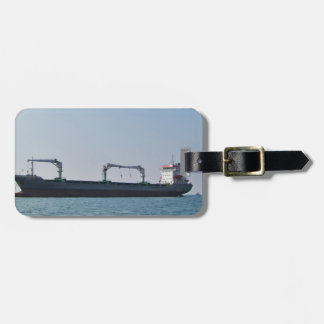 Cargo Ship Bozona Luggage Tag