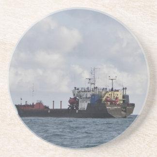 Cargo Ship Mikhail Kuznetsov Drink Coaster