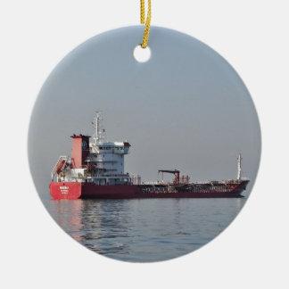 Cargo Ship Morina Ceramic Ornament