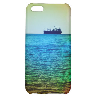 Cargo ship on the horizon iPhone 5C covers