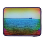 Cargo ship on the horizon sleeves for MacBook pro