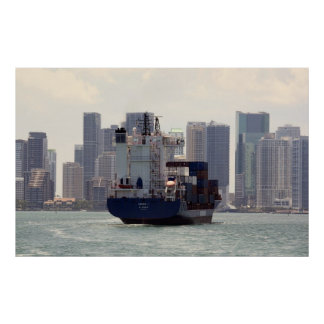 Cargo ship posters