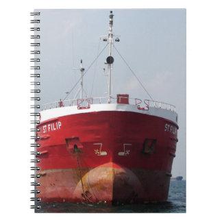 Cargo Ship St Filip Notebook
