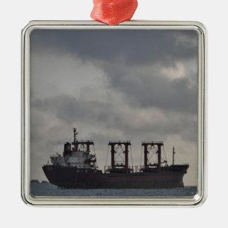 Cargo Ship TK Istanbul Metal Ornament
