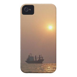Cargo Ship Under A Hazy Sun Case-Mate iPhone 4 Case