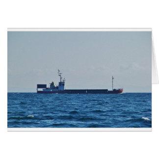 Cargo Ship Vela Card