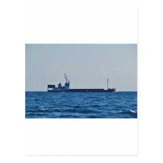 Cargo Ship Vela Postcard