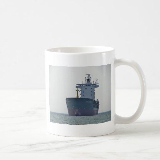 Cargo Ship Yusuf Cepnioglu Coffee Mugs
