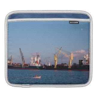 Cargo ships iPad sleeves