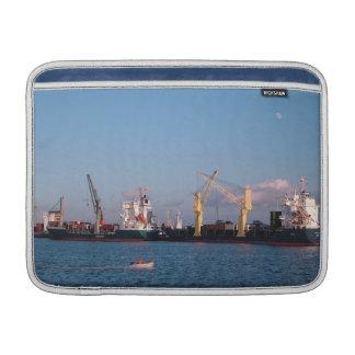 Cargo ships MacBook air sleeve