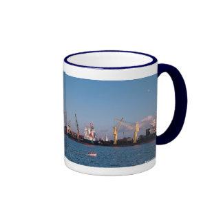 Cargo ships ringer mug