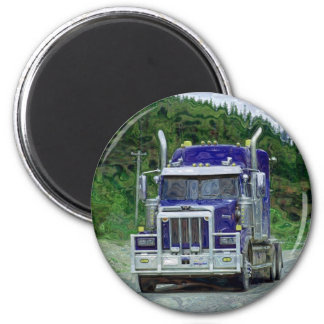 CARGO TRUCK BIG RIG TRUCKERS Gifts Magnet