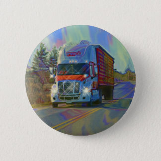 CARGO TRUCK BIG RIG TRUCKERS Gifts Pinback Button
