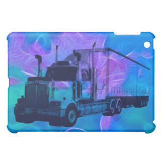 CARGO TRUCK BIG RIG TRUCKERS iPad Case