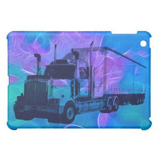 CARGO TRUCK BIG RIG TRUCKERS iPad Case