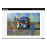 "CARGO TRUCK BIG RIG TRUCKERS Skin Decals For 15"" Laptops"