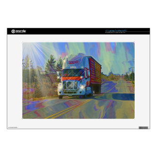 CARGO TRUCK BIG RIG TRUCKERS Skin Skin For Laptop