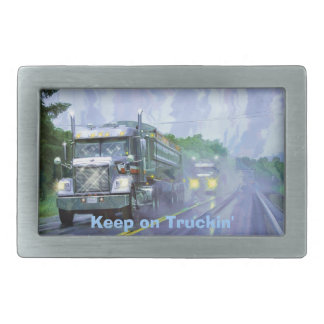 Cargo Truck Drivers Transport Buckle Belt Buckle