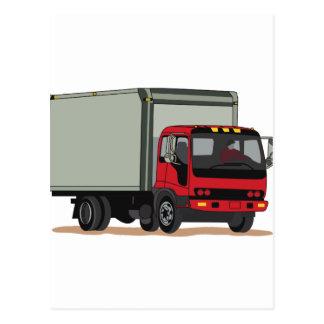 Cargo Truck Postcard
