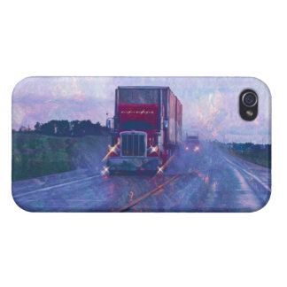 Cargo Truck Road Transport Driver's iPhone Case