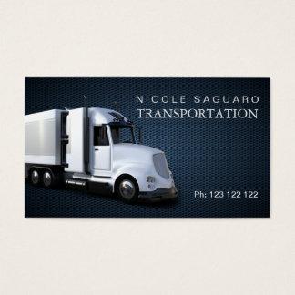 Cargo Truck Transportation Business Card