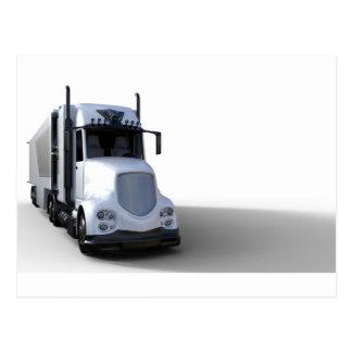 Cargo Truck Transportation Postcard