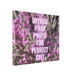 Cargue mi propia imagen personalizada foto de la l impresión en lienzo estirada