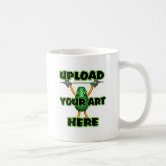 Cargue su arte en artículos de encargo del zazzle  taza de café