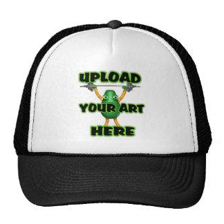 Cargue su arte en los gorras del camionero por Val