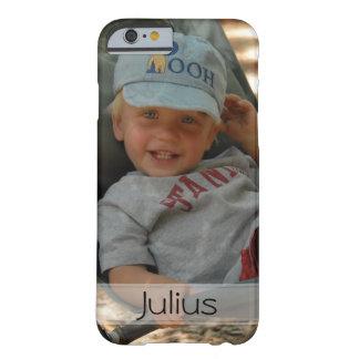 Cargue su caso del iPhone 6 de la foto Funda Barely There iPhone 6