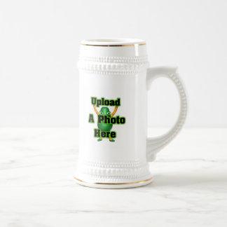 Cargue su foto a la plantilla por el valxart tazas de café