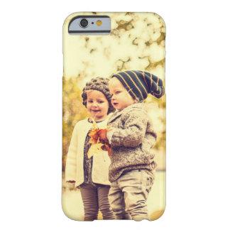 Cargue su propia imagen funda de iPhone 6 barely there