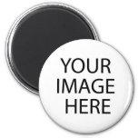 ¡cargue su propia imagen! imán para frigorífico