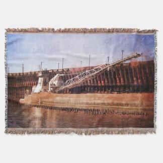 Carguero de Great Lakes del vintage Manta