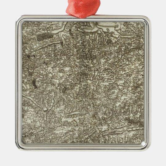 Carhaix, Brest Metal Ornament