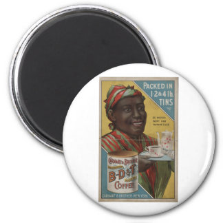 Carhart & Brother celebrated roasted coffee Magnet