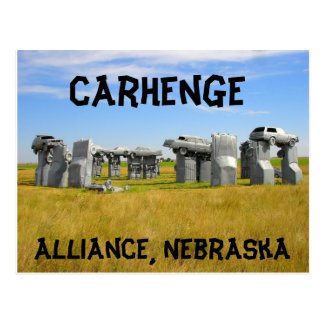 Carhenge Post Card