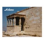Cariatides - Atenas Tarjeta Postal