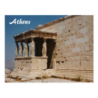 Cariatides - Atenas Postales
