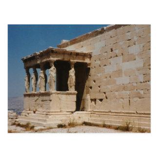 Cariatides - Athens Postcards