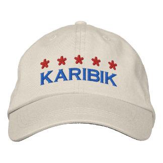 CARIBBEAN - 001 EMBROIDERED BASEBALL CAP