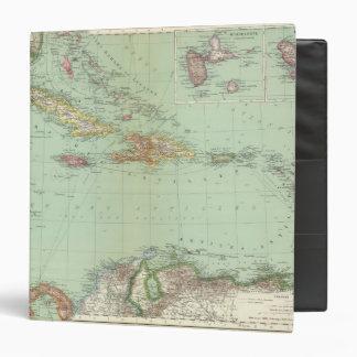 Caribbean 3 Ring Binder