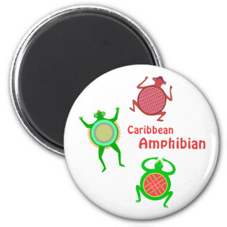 Caribbean Amphibian Magnet